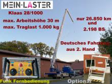 MAN 8.103 Klaas 28/1000 30m 1000kg Funk Arbeitskorb grua móvel usada