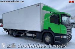 Camião Scania P 410 furgão usado