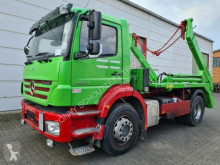 Mercedes skip truck Axor 1833 L / 4x2 1833 L, Meiller AK 12 MT Teleskopabsetzipper