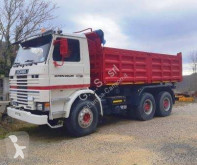Camión volquete volquete trilateral Scania