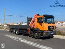 Camion plateau porte fer MAN F2000 26.292