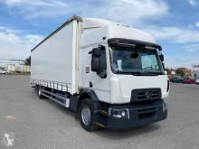 Lastbil Renault Gamme D WIDE 320.19 DXI skjutbara ridåer (flexibla skjutbara sidoväggar) begagnad