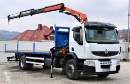 Camion plateau Renault Premium 320 DXI Pritsche 8,30m+Kran/Funk*