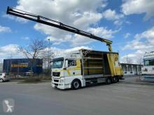 Camion savoyarde MAN TGS TGS 26.440 6x2 Kran Palfinger Pk 18002 + Remote