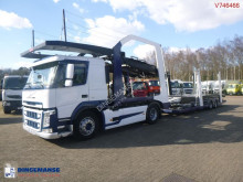 Volvo car carrier trailer truck FM