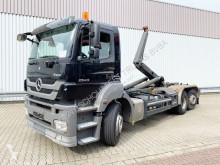 Camión Gancho portacontenedor Mercedes Axor 2543 L 6x2 2543 L 6x2 mit Lenkachse, Funk