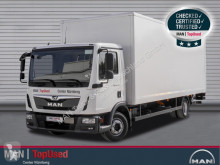 Camión furgón MAN TGL 12.220 BL-KOFFER-AHK-LBW-3SITZER-KLIM