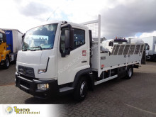 Camion porte voitures Renault D TK02 + Machine - Auto transport +