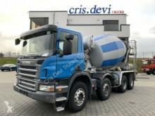 Camión hormigón cuba / Mezclador Scania P P 380 CB 8x4 Stetter 8 cbm