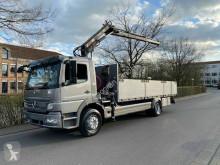 Camion Mercedes Atego ATEGO 1626 Kran HIAB 085 / Euro 5 plateau ridelles occasion
