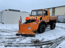 Unimog three-way side tipper truck U1450