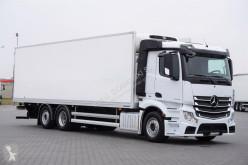 Hűtőkocsi teherautó MERCEDES-BENZ ACTROS / 2542 / E 6 / 6 X 2 / CHŁODNIA + WINDA