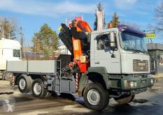 Ciężarówka platforma MAN 28.460 6x4x4 PALFINGER PK 36002 E Cran Kran