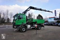 Ciężarówka platforma Mercedes Actros 2248 AK 4x4 HIAB 288 Euro 5 Kran Crane