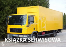 Camion fourgon MAN TGL 12.180 EURO 5 kontener winda klapa poduszki