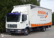 Ciężarówka Plandeka MAN TGL 12.240 Firanka winda poduszki klimatyzacja