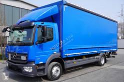 Mercedes függönyponyvaroló teherautó Atego 1218