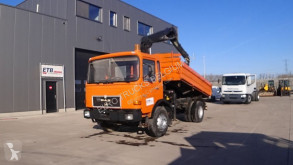 Vrachtwagen kipper MAN 16.192 (CRANE / BIG AXLE / MANUAL PUMP)