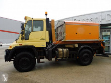 Unimog U400 truck used hook lift