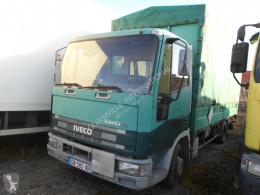 Camião caixa aberta com lona Iveco Eurocargo 75E14