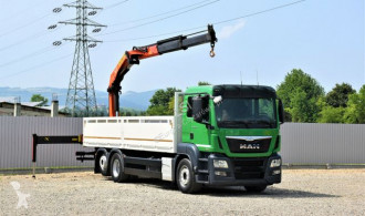 Camion MAN TGS 26.440 Pritsche 7,60 m+Kran *Topzustand! plateau occasion