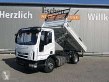 Camion ribaltabile trilaterale Iveco Eurocargo 100E19 Meiller-3-Seiten Kipper*AHK*3 Sitze*1Hand