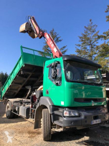 Renault Kerax 320 DCI truck used two-way side tipper