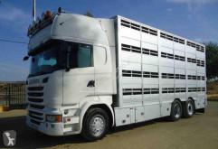 Camión remolque ganadero Scania