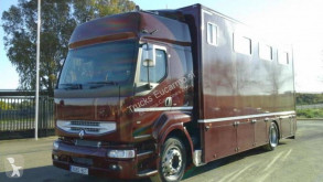 Camion Renault Premium 340 van à chevaux occasion