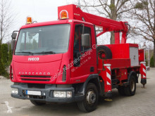 Kamion gondola Iveco Eurocargo 75E15 4x2 Palfinger BISON TKA 16