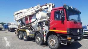 Camion béton malaxeur + pompe Mercedes Actros 4140