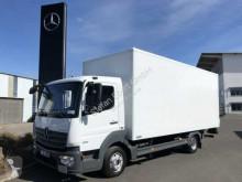 Camión Mercedes Atego Atego 818 L 4x2 Koffer + LBW Klima AHK furgón usado
