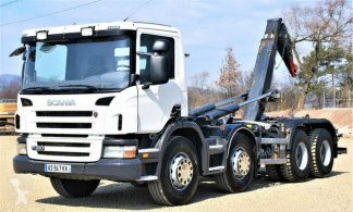 Kamion stroj s více korbami Scania P 360 Abrollkipper 5,70m *8x4* Top Zustand !