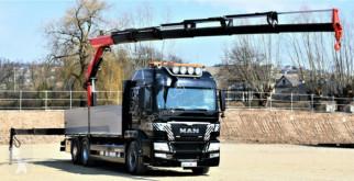 Ciężarówka platforma MAN TGS 26.480 HYDRODRIVE+Kran FASSI 215/FUNK *4x4