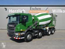 Scania P P 360 8x4, 9 m³ Intermix, Klima, Manuell, EUR5 LKW gebrauchter Betonmischer Kreisel / Mischer