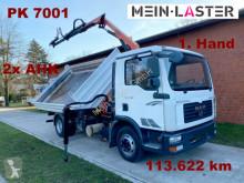 Camión volquete volquete trilateral MAN TGL TGL 8.180 3 S-Kipper PK 7001 - 8,9 m -3 Sitzer