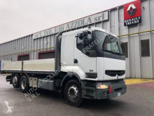 Camión Renault Premium PREMIUM 420 26 caja abierta teleros usado