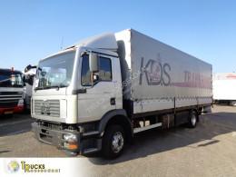 MAN TGM 12.240 truck used tarp