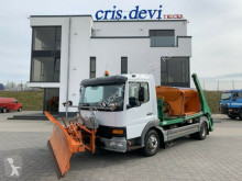 Mercedes snow plough-salt spreader Atego Atego 818 4x2 Wintderdienst