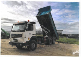Volvo FM12 380 truck used three-way side tipper