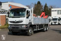 Camión caja abierta Renault Kerax 380 DXI E5 6x4 Pritsche/Kran Fassi210/Funk