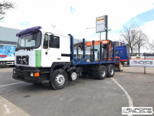 MAN 26.272 truck used timber