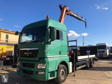 Camion MAN TGX 26.440 porte engins occasion