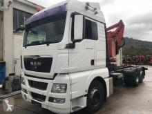 Camion MAN TGX 26.440 porte engins occasion