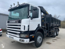 Scania two-way side tipper truck C 114C380