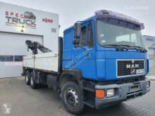 Camion MAN 26.402, Manual Pump platformă second-hand