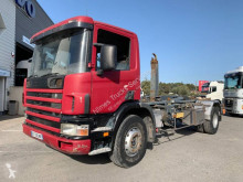 Scania G 310 truck used hook arm system