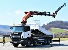 Ciężarówka platforma Scania G420 Kipper 6,20m+PK 60002 + JIBPJ170V1E + FUNK!