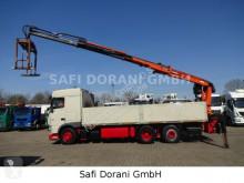 DAF XF XF460 Baustoffkran ATLAS truck used dropside