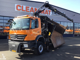 Mercedes two-way side tipper truck Axor 1824